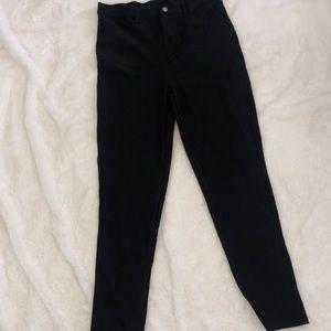 Black stretchy jeans